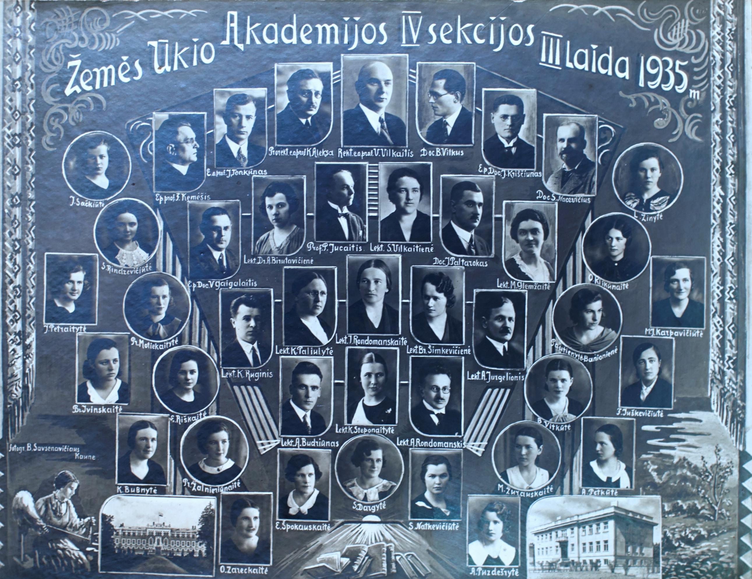 IV sekcijos 3 laida | 1935 m.