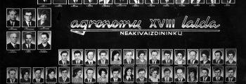 18  neakivaizdininkų laida | 1974 m.